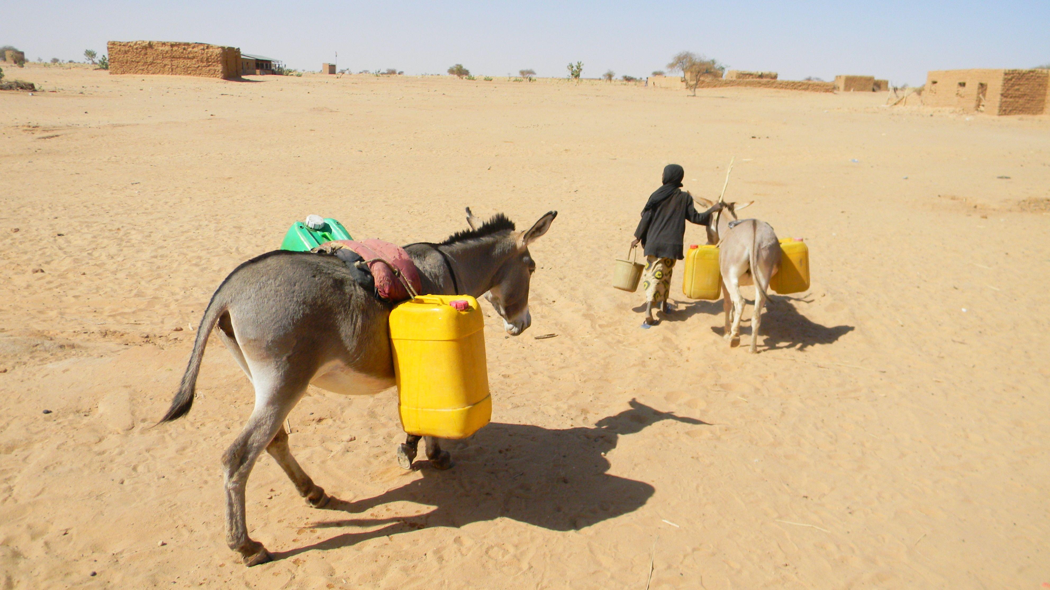 portage d'eau