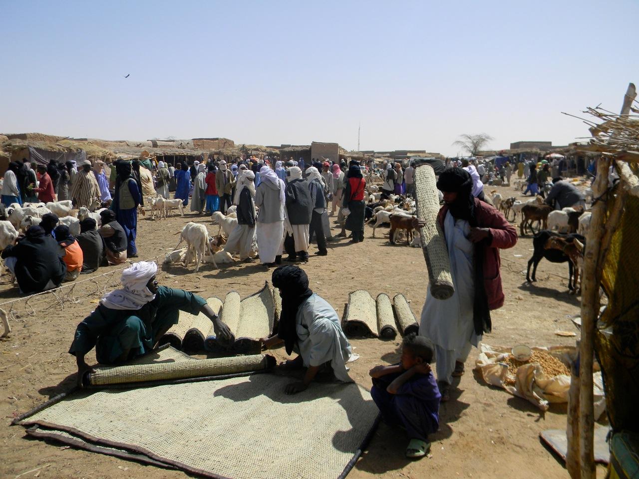 Marché hebdomadaire de Tagoudoum